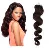 Vlnité vlasy Micro Ring / Easy Loop / Easy Ring / Micro Loop 50cm – přírodní černé