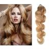 Vlnité vlasy Micro Ring / Easy Loop / Easy Ring / Micro Loop 50cm – přírodní blond