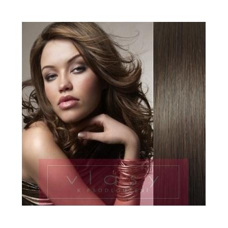 "20"" (50cm) Pu Extension / TapeX / Tape Hair / Tape IN human hair – dark brown"