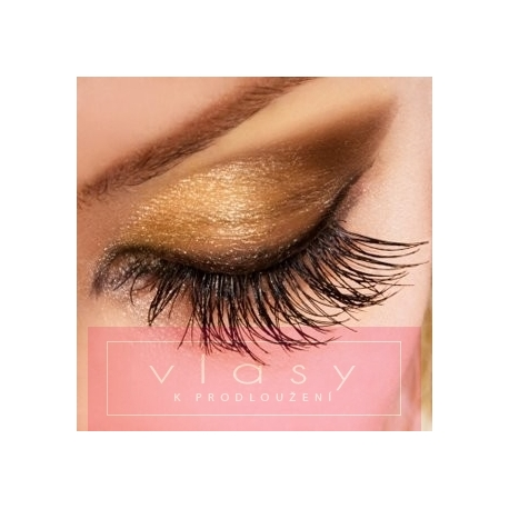Long false eyelashes - 1 pair
